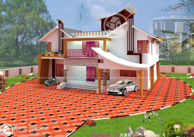 3361 SQ FT, 6BHK , Double Floor Home Plan