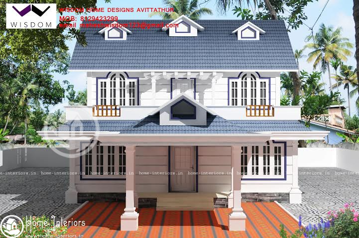2237 sq ft, Beautiful Double Floor Home Design
