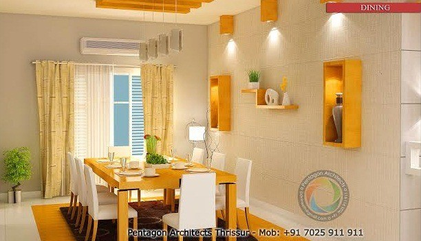 Living, Foyer, Dining & Family Sitting Interior Design