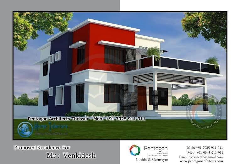2789 Sq Ft, Double Floor Kerala Home Design