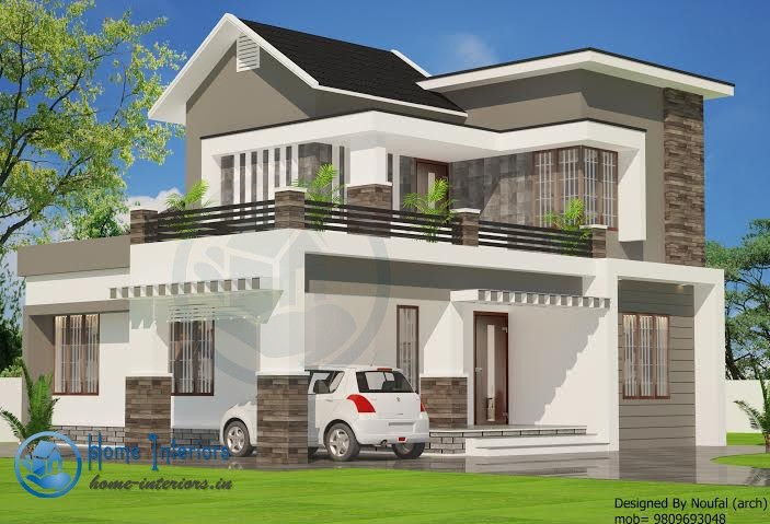 1480 Sq Ft, Double Floor Kerala Home Design