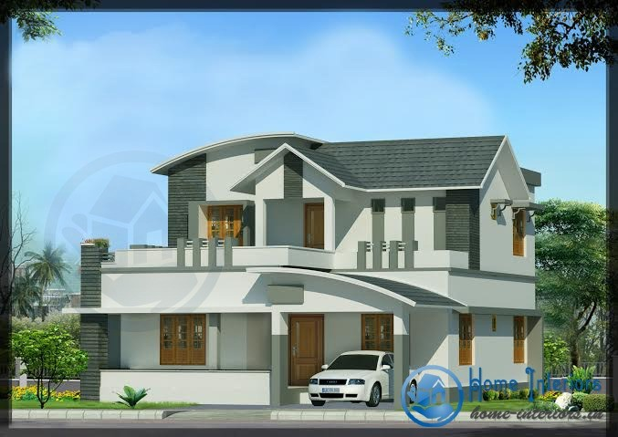 Awesome Contemporary 5 BHK Kerala Home Design