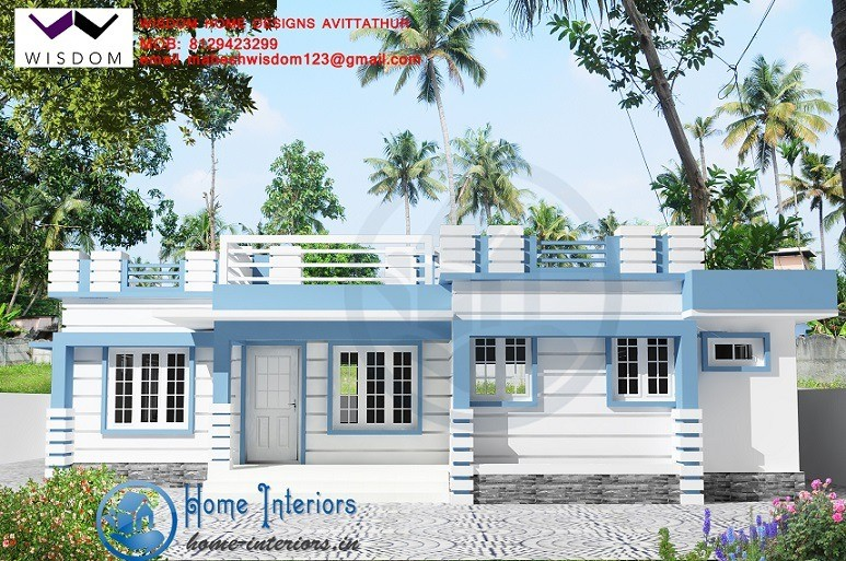 Modern Single Storied Contemporary Designs 1250 Sq Ft