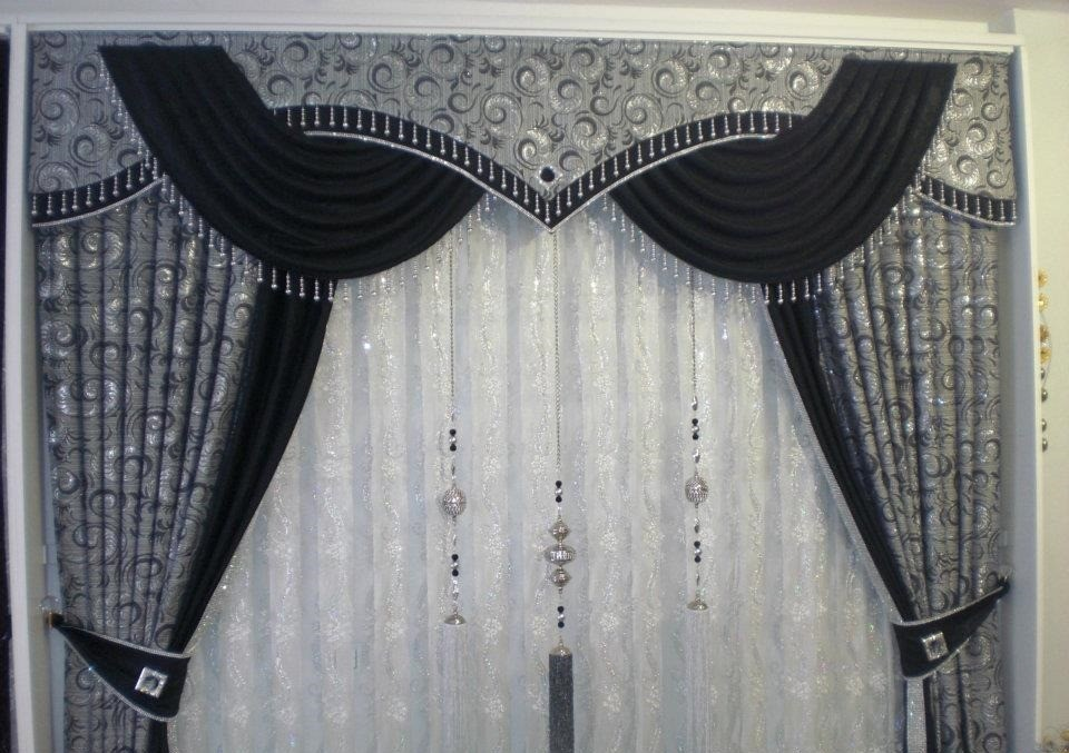 Awesome Curtain Living Room Models