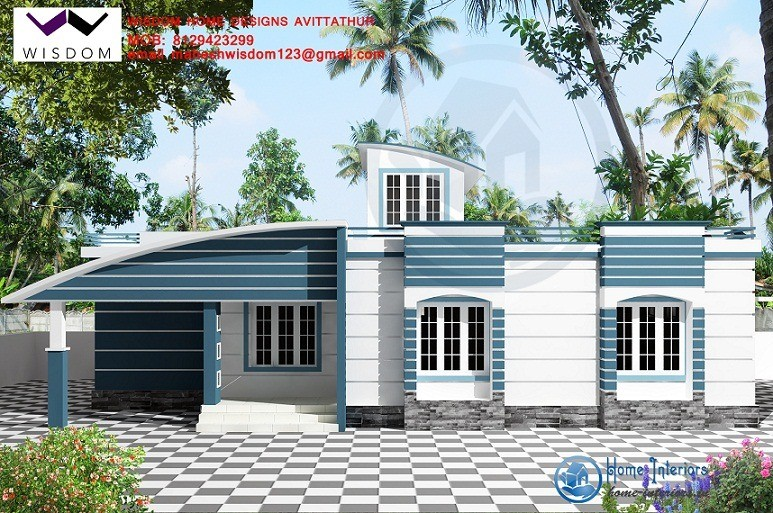 Confidential Contemporary Single Floor Kerala Home Design