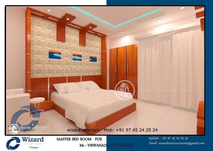 Supreme Master Bedroom Kerala Home Interiors