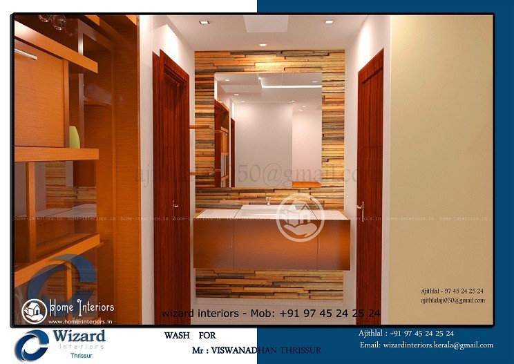 Lovely Traditional Wash Area Interior Designs