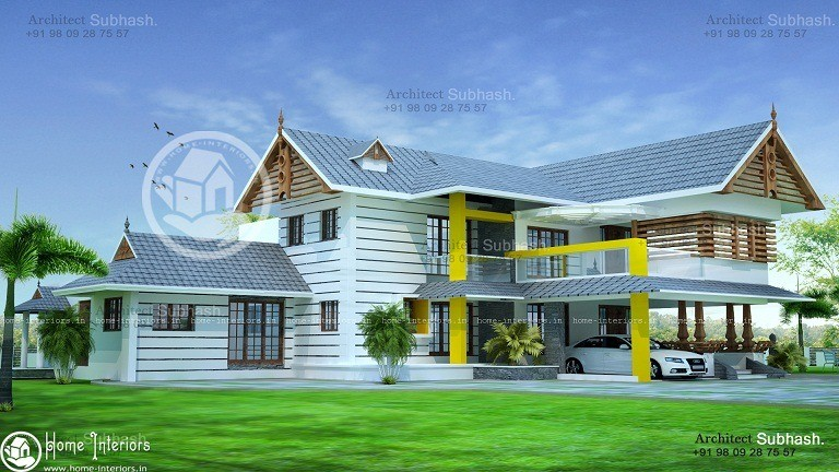 Beautiful 2286 Sq Ft Contemporary Kerala Home Design