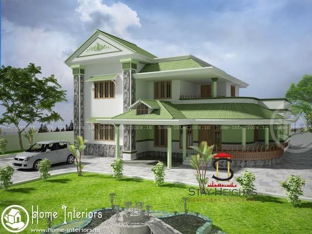 Modern kerala Style Home Design 2500 Square Feet