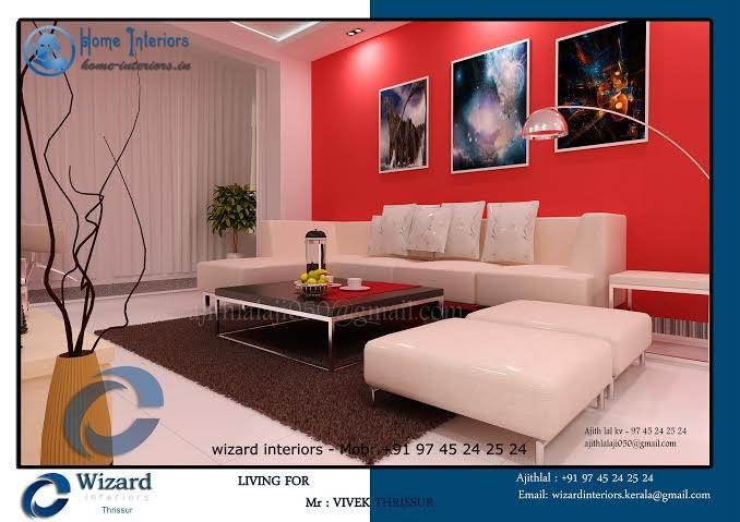 Living Room, Dining, Kitchen Interior Designs