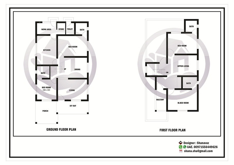 2000 sq ft contemporary villa 4 bhk home design home for Kerala house plans below 2000 sq ft