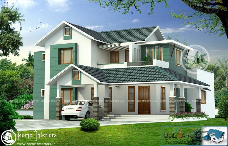 2789 Sq Ft Contemporary Double Floor Home Design