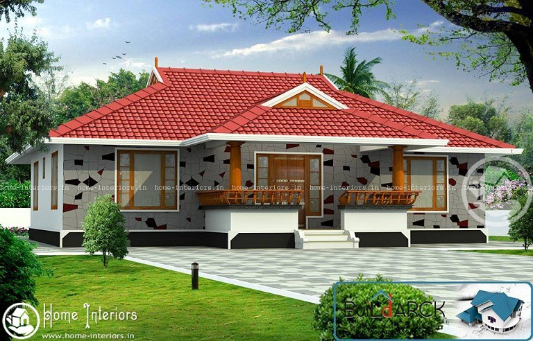 1300 Sq Ft Contemporary Single Floor Home Design