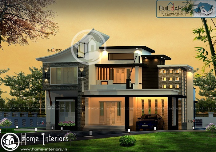 2307 Sq Ft Double Floor Modern Classic Home Design