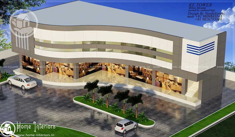 Exemplary 5000 Sq Ft Contemporary Shopping Mall