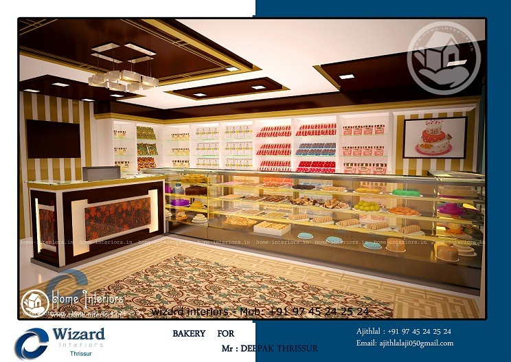 Tremendous Modern Bakery Interior Designs