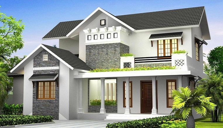 2300 Sq Ft Modern Style Double Floor Home Design - Home ...