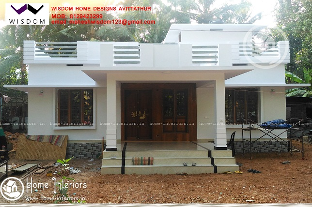1350 Sq Ft Single Floor Contemporary Home Designs