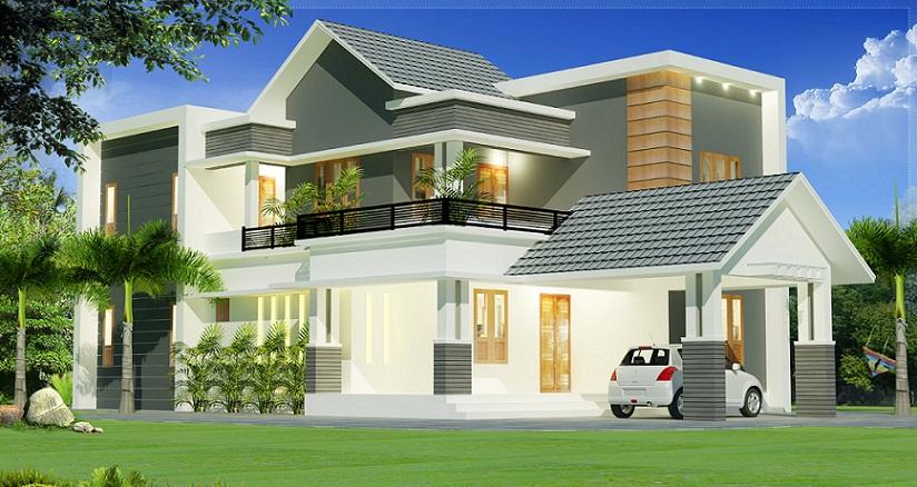 2000 Sq Ft Contemporary 4 BHK Renovated Home Design