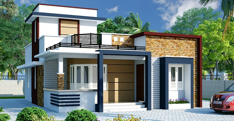 1100 sq ft single floor contemporary home designs for Home design ideas facebook