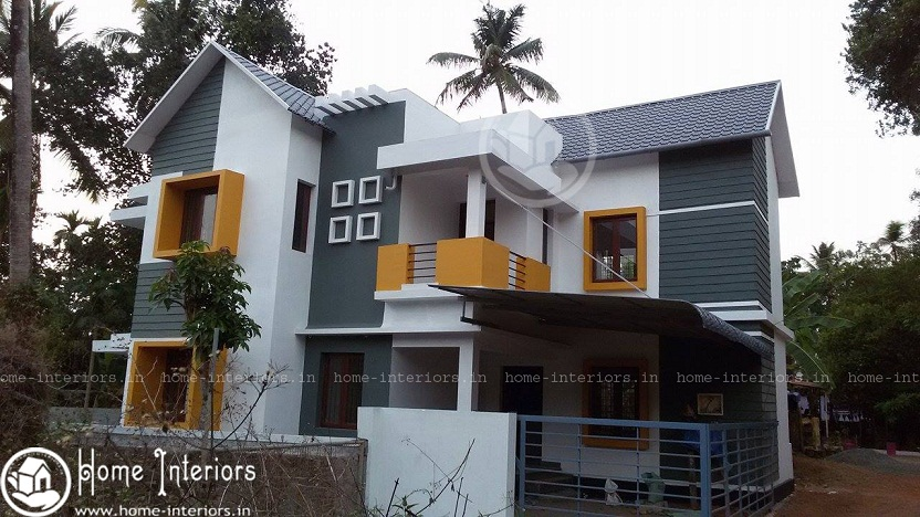 1600 Sq Ft 3 BHK Contemporary Home Design Renovation Project