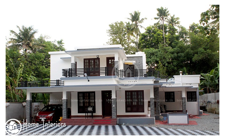 2350 Sq Ft Double Floor Contemporary Home Design