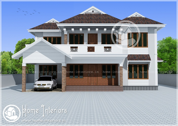 Modern Kerala House Design 2016 At 2980 Sq Ft: 2769 Sq Ft Double Floor Contemporary Home Design