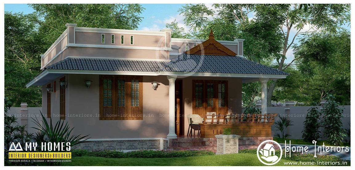 Modern Kerala House Design 2016 At 2980 Sq Ft: 900 Sq Ft Contemporary Single Floor Home Design