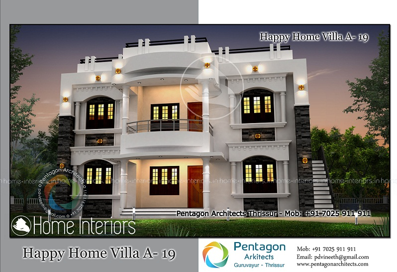 3107 Square Feet Excellent And Amazing Kerala Home Design