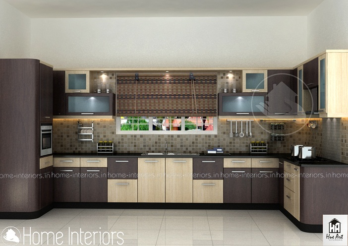 Top contemporary budget home modular kitchen interior design for Modern kitchen designs in kerala