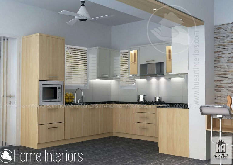 Fabulous Simple Contemporary Modular Kitchen Home Interior Design
