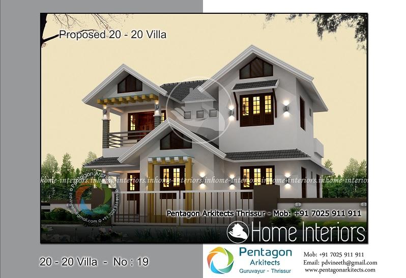 1725 Square Feet 5 BHK Contemporary 20-20 Home Villa 19 Design