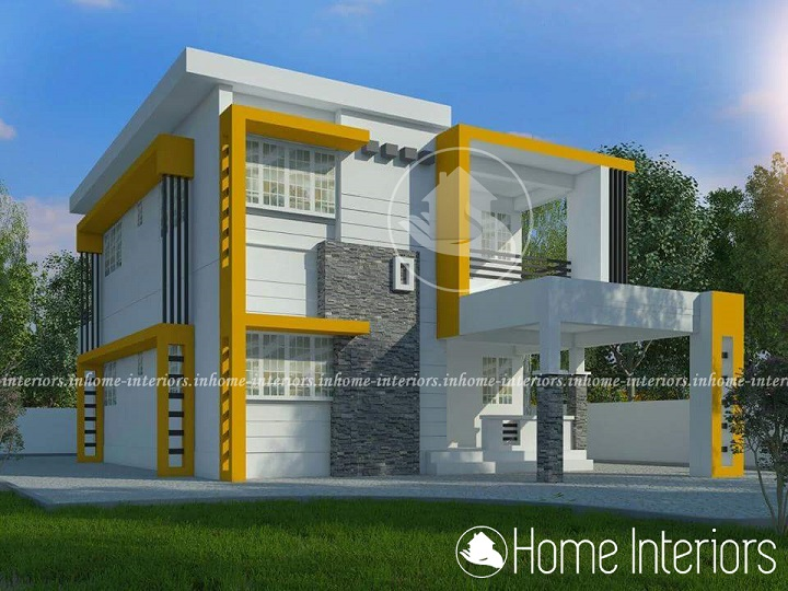 2133 Square Feet 4 BHK Contemporary Renovation Home Design