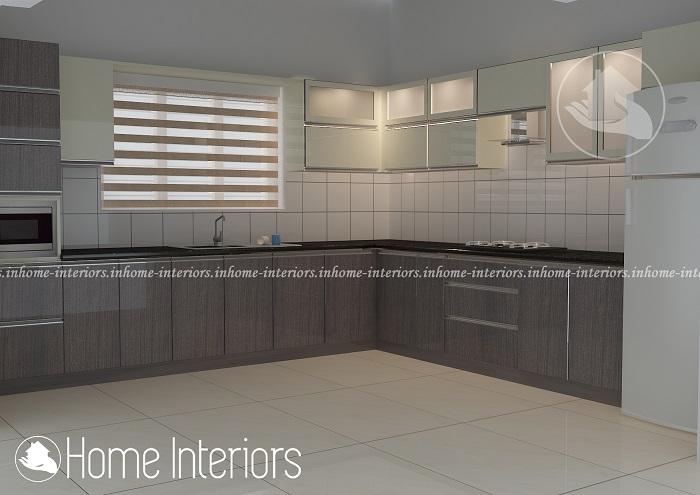 Incredible Contemporary Home Modular Kitchen Interior Design