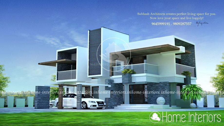 2400 Square Feet Double Floor 4BHK Budget Home Design