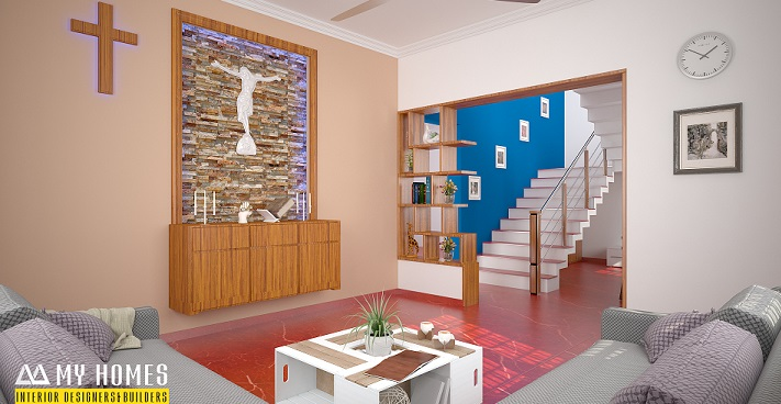 Incredible And Marvellous Kerala Home Interior Living Cum Prayer Hall Designs Facebook Home Interiors