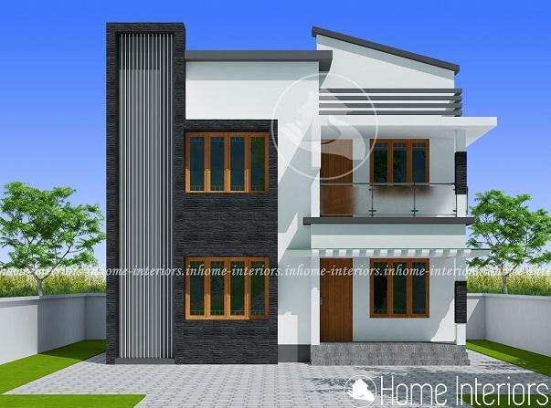 1121 Square Feet Double Floor Contemporary Home Design