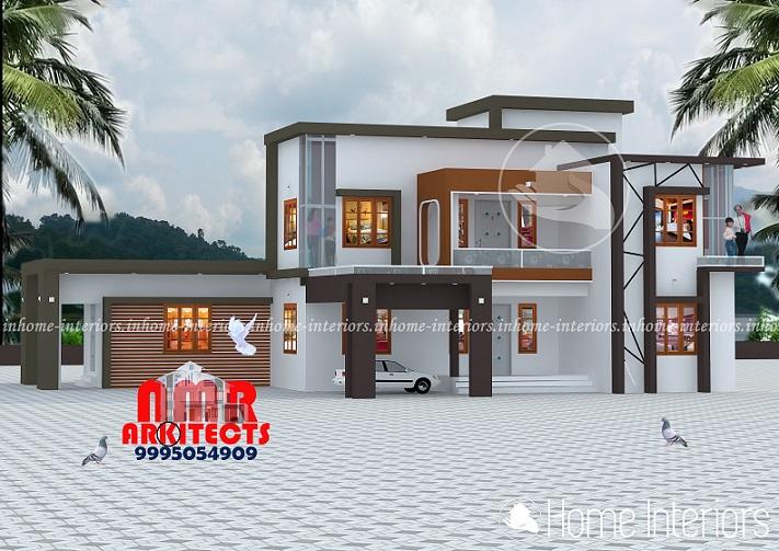 2802 Square Feet Double Floor Contemporary Home Design