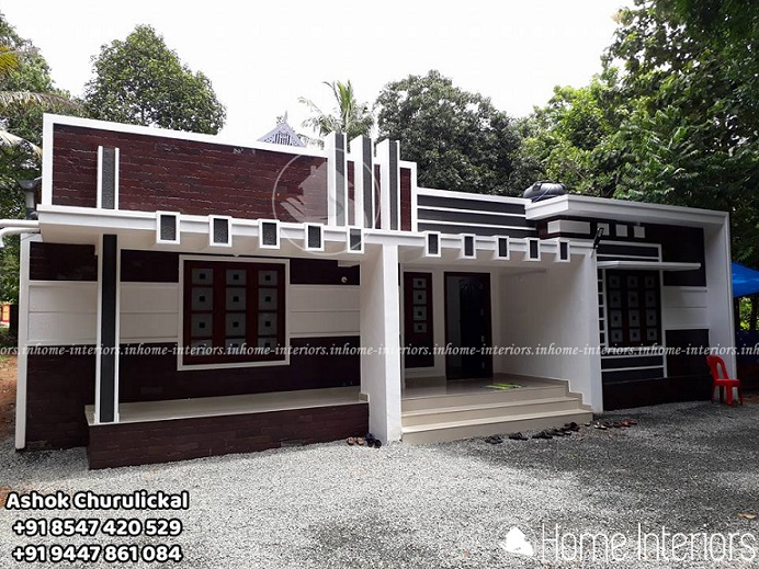 1635 Square Feet 4 BHK Contemporary Renovated Home Design