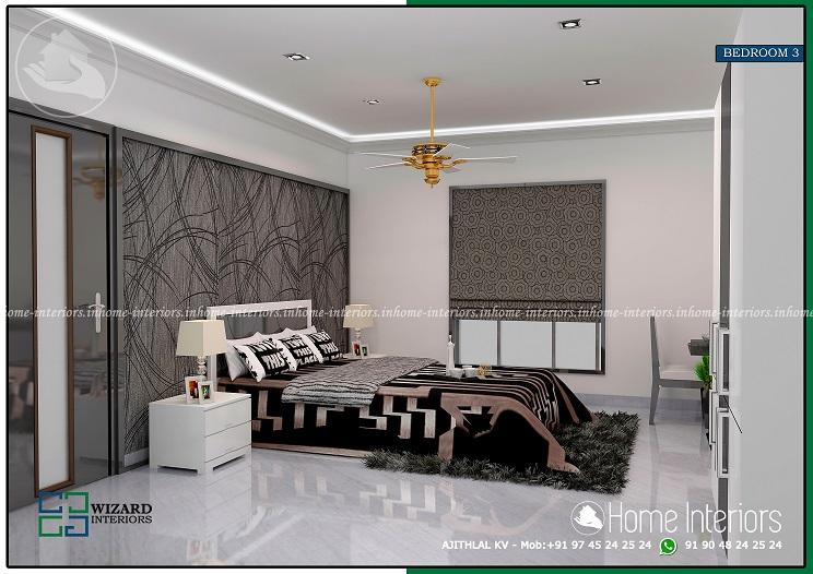 Fascinating Home Bedroom Contemporary Interior Design