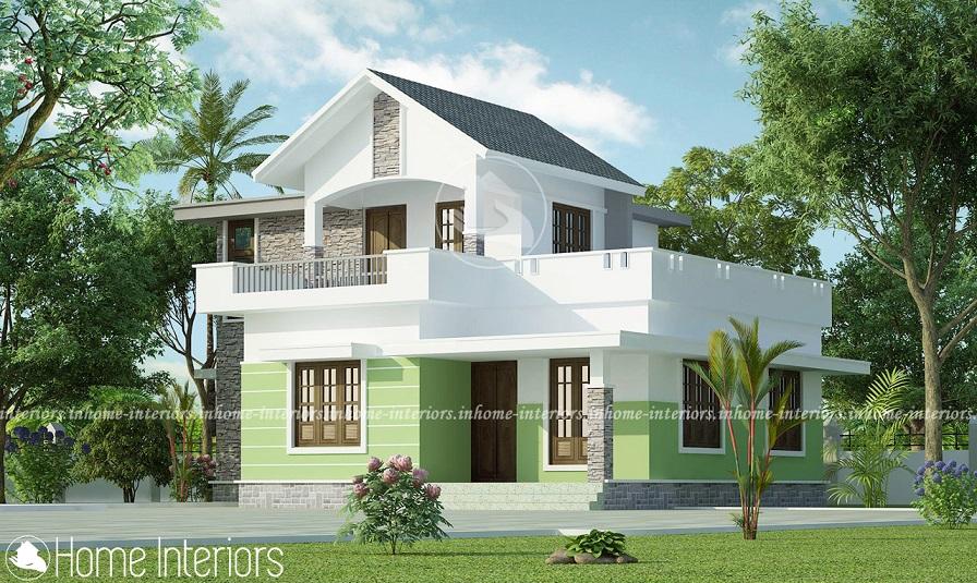 1161 Square Feet Single Floor Contemporary Home Design