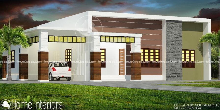 1400 Square Feet Single Floor Modern Renovation Home Design