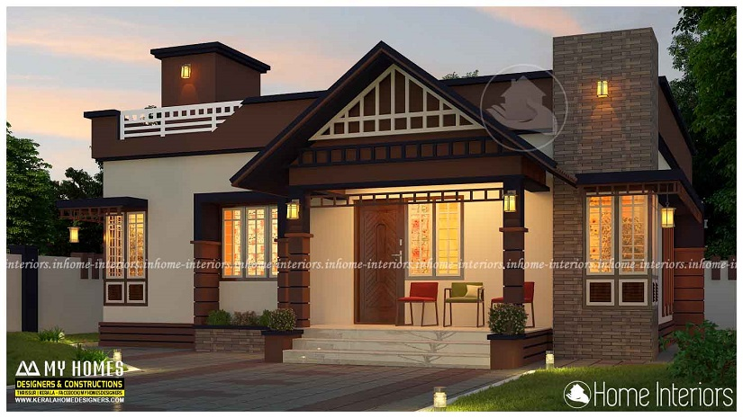850 Square Feet Single Floor Budget Home Design