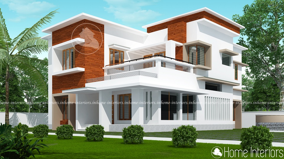2833 Square Feet Double Floor Contemporary Home Design