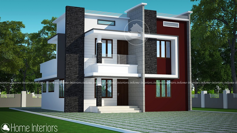 1519 Square Feet Double Floor Contemporary Home Design