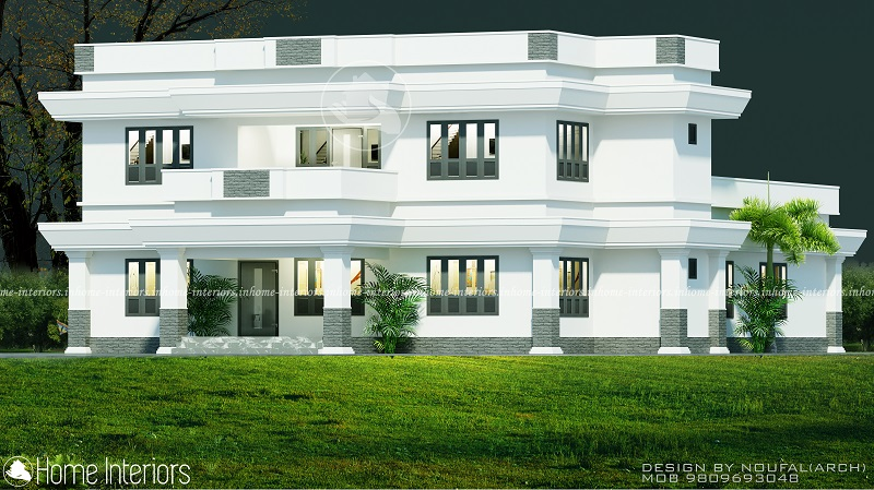 3000 Square Feet Double Floor Contemporary Home Designs