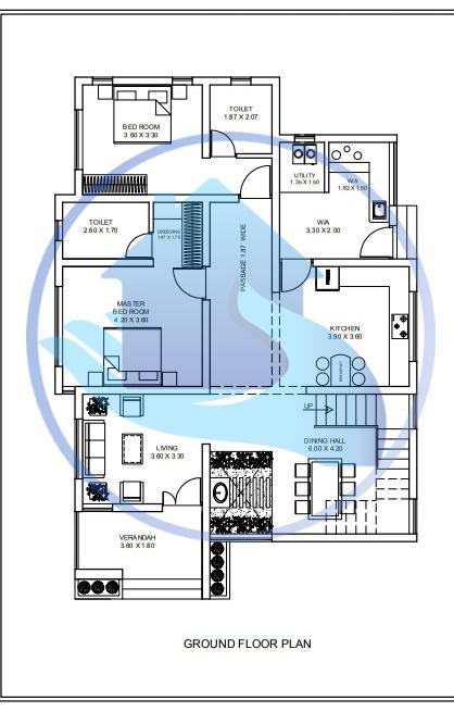 2338 Square Feet Double Floor Contemporary Home Design