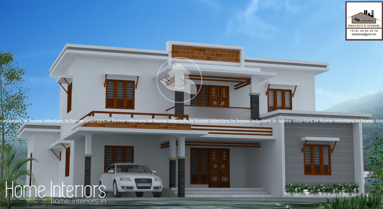 2698 Square Feet Modern Contemporary Home Design