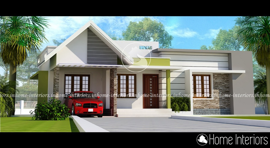 1300 Sq Ft Single Floor Contemporary Home Designs