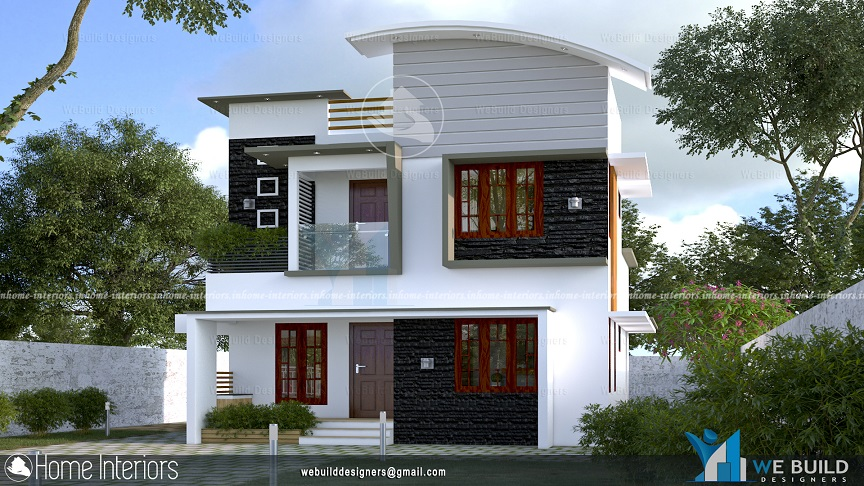 1200 Square Feet Double Floor Contemporary Home Design